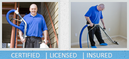 professional cleaning technicians